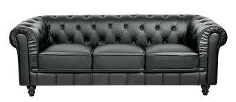 canap chesterfield noir canape canape noir 3 places canapac en cuir blanc et hamilton