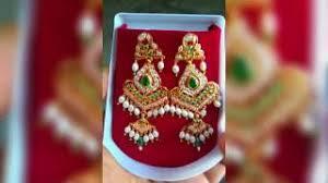 rajputi earrings new rajputi earrings design gold earrings design earrings