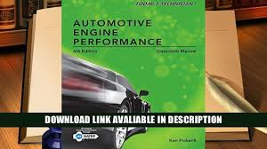 online book today s technician automotive engine performance
