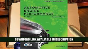online book today s technician automotive engine performance
