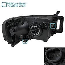 Black Diamond Lights 2lh Dgp02jm Rs Dodge Ram Black Diamond Front Head Lights Lamps