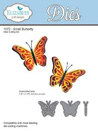 craft designs die small butterfly