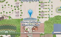 map of california adventure disney california adventure park disneyland resort
