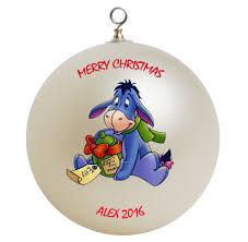 winnie the pooh eeyore personalized custom ornament 2
