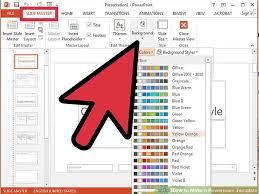 how to create a presentation template in powerpoint 19