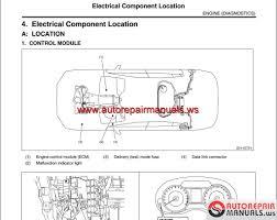 subaru xv cross hybrid 2014 usa workshop manual auto repair