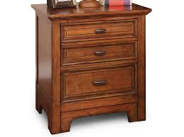 flexsteel wynwood collection river valley 2 drawer nightstand with