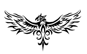 phoenix tribal tattoo by vauvenal on deviantart