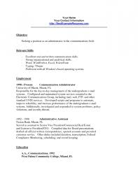 Resume Examples With Skills by Example Skills Resume