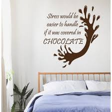 Splash Home Decor Chocolate Wall Decal Quotes All You Need Is Love Kitchen Cafe