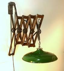 Arm Lamps Hand Made Teak U0026 Mahogany Scissor Arm Lamps Vintage Industrial