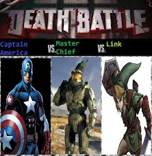 Master Chief Meme - captain america vs master chief vs link by keyblademagicdan on
