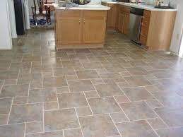 dark kitchen floor tile granite countertop stainless steel modern