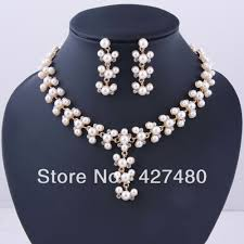 pearls necklace sets images 2018 2014 fashion christmas gifts african jewellery set 18k gold jpg