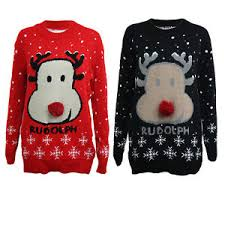 rudolph sweater mens jumper womens 2018 novelty knitted