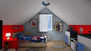 deco chambre garcon heros 3d chambre enfant les hacros projet dacco en 3d par griffe