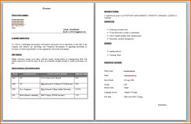 Mba Fresher Resume Sample by Resume Templates Throughout 25 Excellent Format For Mba Fresher Hr