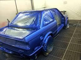 Bmw E30 Interior Restoration Bmw E30 Restoration Estoril Blue Youtube