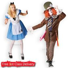 couples costume alice in wonderland mad hatter fancy dress