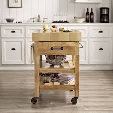 Powell Color Story Black Butcher Block Kitchen Island Amazon Com Crosley Furniture Marston Butcher Block Rolling