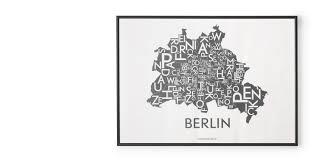 Wohnzimmer Berlin Karte Berlin Map Von Kortkartellet Made Com