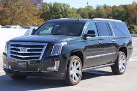 green cadillac escalade green 2016 cadillac escalade for sale in