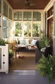 Tv In Front Of Window by Porch And Patio Design Inspiration Southern Living