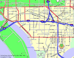 big washington dc map clem s baseball proposed d c stadium