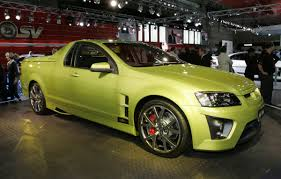 holden maloo gts holden hsv maloo r8 ute 2007 sydney show