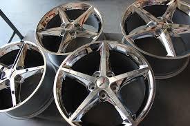 corvette c6 wheels for sale gm oem 2012 2013 chrome c6 corvette wheels for sale