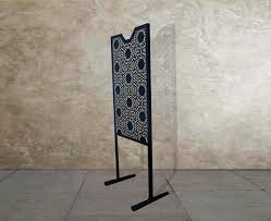 Metal Room Divider Single Panel Room Divider Klyazma
