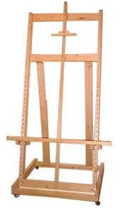build your own easel free easel plans carpinteria