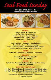 Soul Food Thanksgiving Dinner Menu Nimps To Go Soul Food Sundays Mesquite Sunnyvale Forney