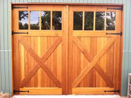 Exterior Pine Doors Classic Pine Wood Unfinished Garage With Glass Tops As Inspiring