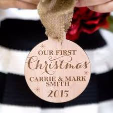 personalized dog christmas ornament puppy u0027s first christmas with