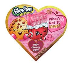 chocolate heart candy shopkins valentines day heart gift box with chocolate