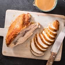 whole turkey roast whole turkey breast with gravy cook s illustrated