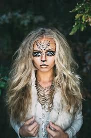Cowgirl Halloween Makeup Lioness Makeup Lioness Makeup Costumes And Halloween Makeup