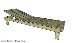 Chaise Lounge Plans Diy Chaise Lounge Chair Pool Building An Indoor Plans Peerpower