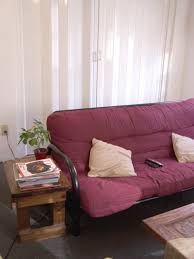 purple in the living room hgtv