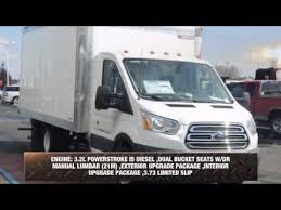 ford transit diesel for sale 2015 ford transit cutaway box truck cargo for sale