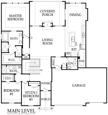 5 Bedroom Floor Plans 1 Story by Augusta A Reverse 1 5 Story Plan By Rodrock Homes