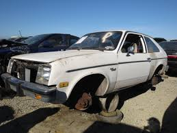 junkyard find 1982 chevrolet chevette the truth about cars
