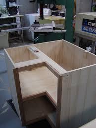 how to make a corner base cabinet blind corner base cabinet by harleysoftaildeuce