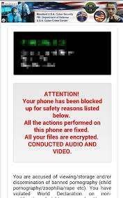 virus removal for android difficulty removing koler trojan or other ransomware on android