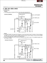 honda em500 generator shop manual 28 images honda em500 em600