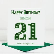 21 Birthday Card Design 21st Birthday Card For Him By Lisa Marie Designs