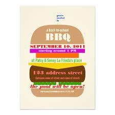 personalized barbeque invitations custominvitations4u com