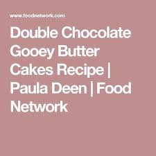 double chocolate gooey butter cakes recipe gooey butter cake