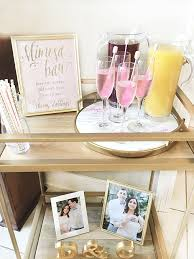 brunch bridal shower ideas brunch and bubbly s shower the southern thing